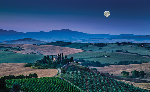 Under the Tuscan Moon